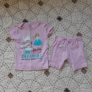 5/$10 Carter's Cupcake Kitty Rainbow Fairy Pajamas